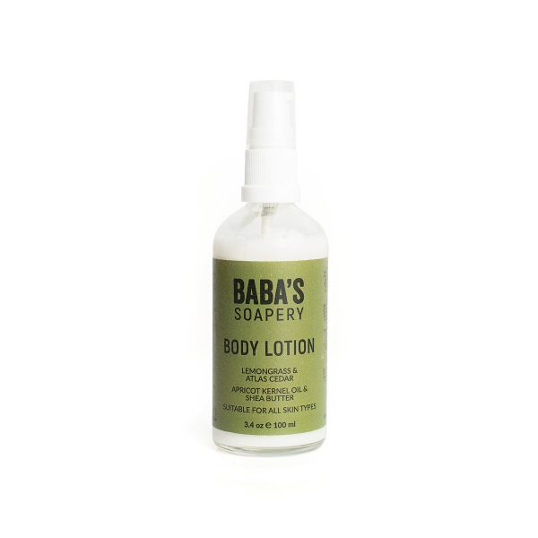 Body lotion lemongrass