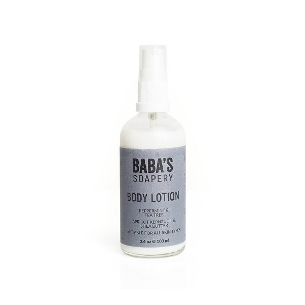 Body lotion peppermint